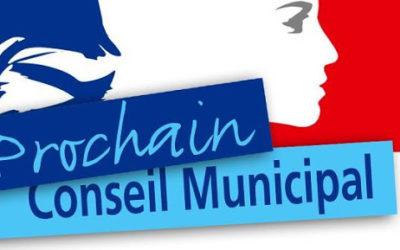 Conseil Municipal du 10 août 2020