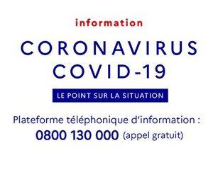 DERNIÈRES INFORMATIONS COVID-19 & TÉLÉCHARGEMENT DES ATTESTATIONS