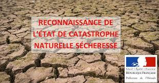 REJET DE RECONNAISSANCE DE L'ETAT DE CATASTROPHE NATURELLE – SÉCHERESSE 2020
